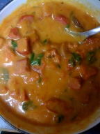 spicy pumpkin sausage soup